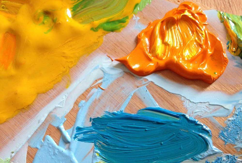 Az impasto festőtechinka