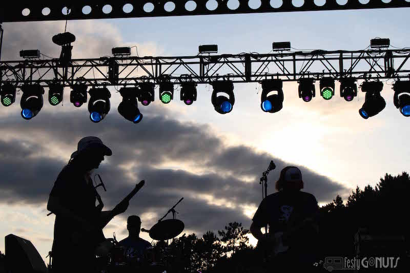 Blue Ox: Main Stage Sunset