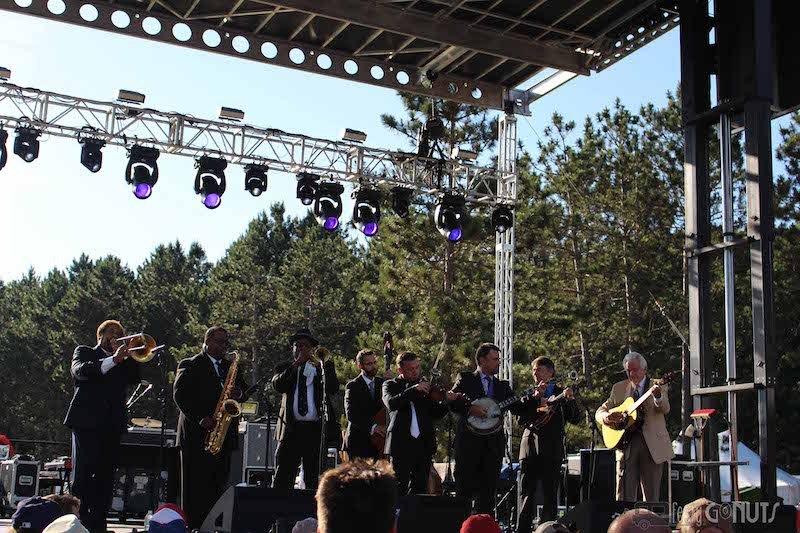 Blue Ox: Del McCoury and Preservation Hall Jazz Band