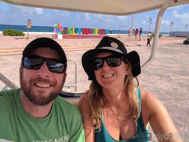 Golf Carting Around Isla Mujeres