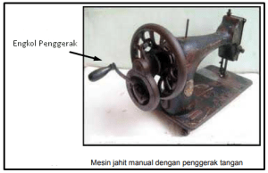 mesin jahit manual