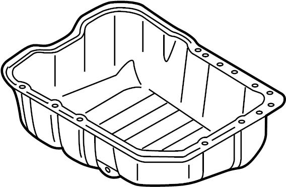 Kia Sorento Engine Oil Pan. LITER, Plug, Gasket