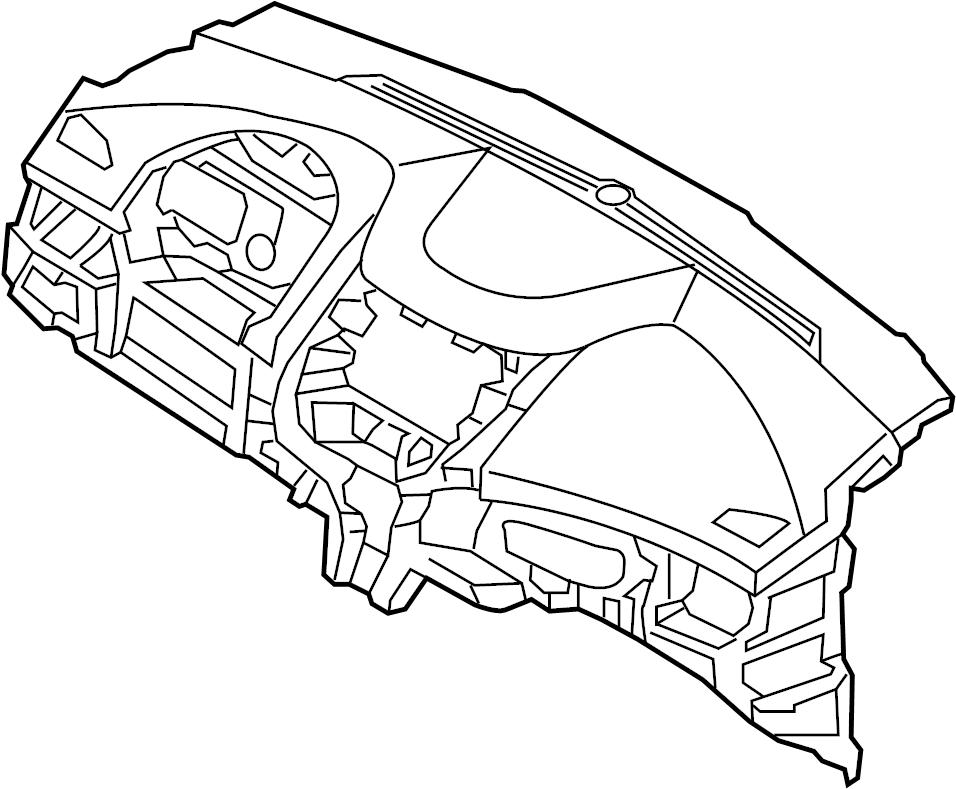 2015 Hyundai Elantra Dashboard Panel. INSTRUMENT, Make