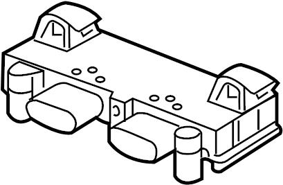 Audi A8 Contour. Unit. Control box. Control module. 2015