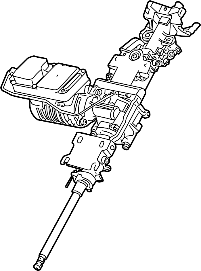 2007 BMW Z4 Steering Column. W/steptronic. Z4; 2.5L, 3.0L