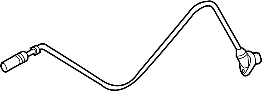 BMW 330Ci Abs wheel speed sensor (rear). Trans, manual