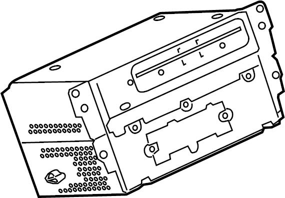BMW M3 Radio. Replacement CIC. SEDAN, w/navigation. W