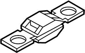 BMW X1 Fuse. 50 amp. FUSES & RELAYS, type 3, 50 A. SEDAN