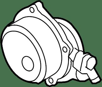 2012 BMW X5 Vacuum Pump. Air pump. Vacuum PUMP. 3.0 LITER