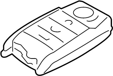 Kia Sorento Keyless Entry Transmitter. Alarm, Control