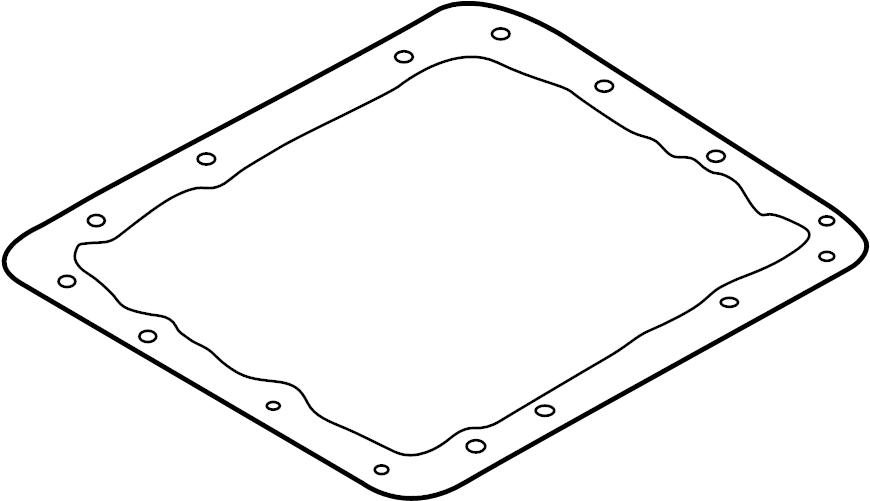 Nissan D21 Automatic Transmission Oil Pan Gasket. PAN