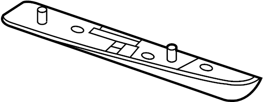 Nissan Juke Radiator Support Air Deflector (Front, Lower