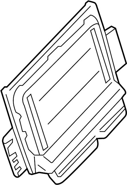Nissan Frontier Engine Control Module. Trans, Manual
