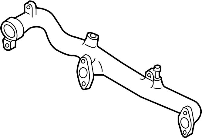 Infiniti G35 Outlet. Water. Pipe. Engine. PUMP, Sedan