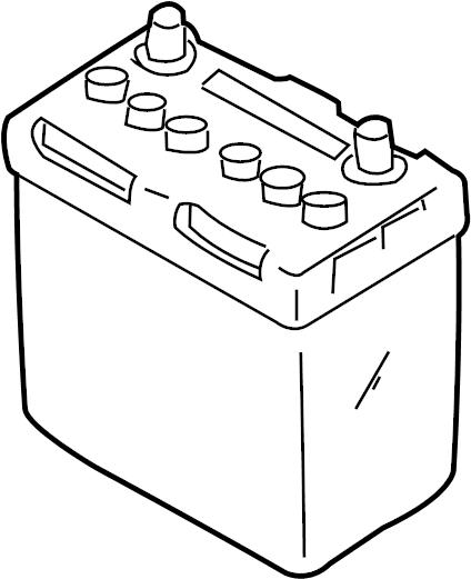 Infiniti Q45 Vehicle Battery. Lighting, Electrical