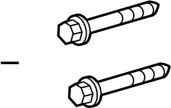 2015 Honda CR-Z Suspension Strut Bolt. FRONT, COMPONENTS