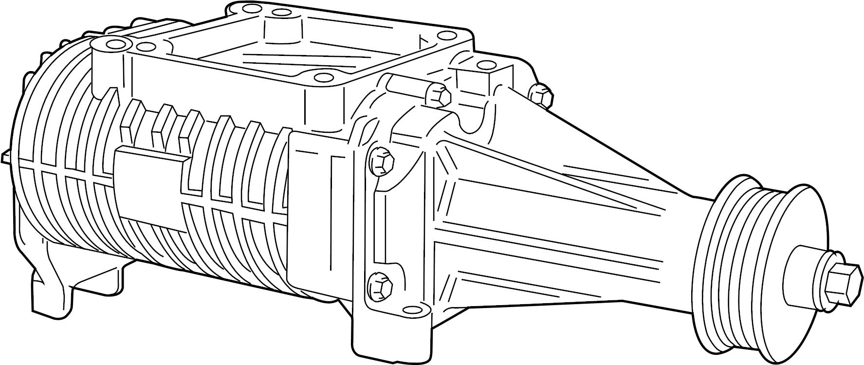 Jaguar XK8 Supercharger. Supercharger. WSUPERCHARGER