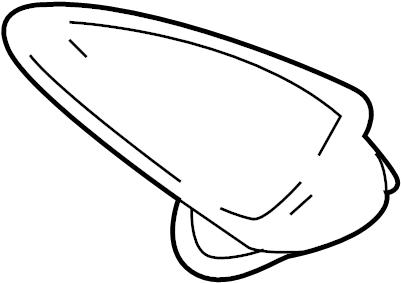 Mazda CX-5 Radio. Antenna. Mast. Ra. Titanium, satellite
