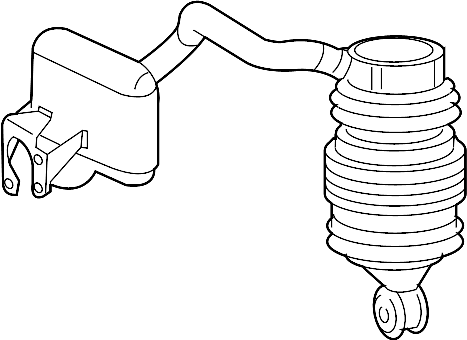 2003 Mercedes E500 Rear Suspension Diagram