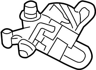 Mercedes-Benz C240 Egr valve. Mercedes benz; mercedesbenz