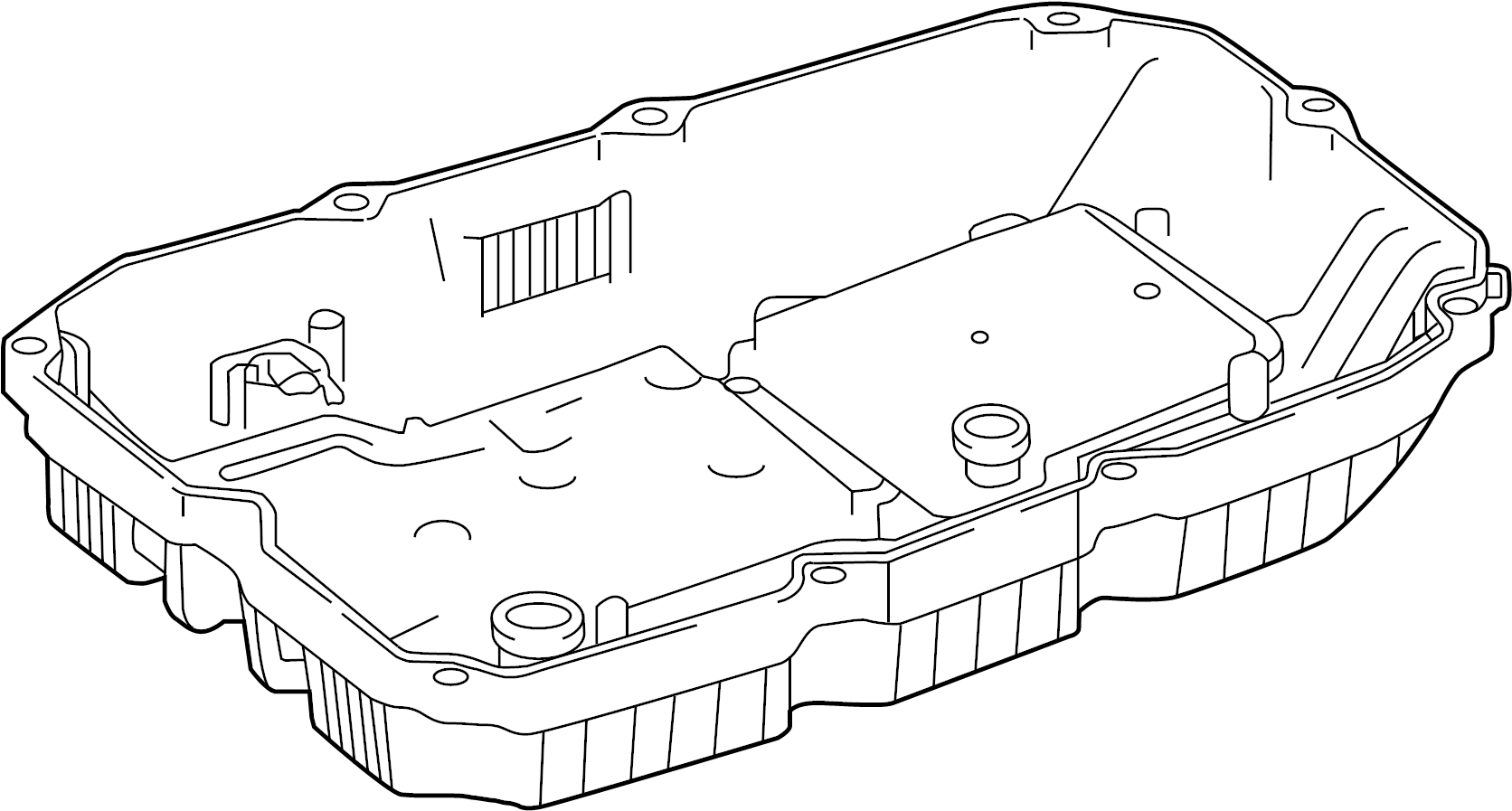 Mercedes-Benz GL550 Automatic Transmission Oil Pan