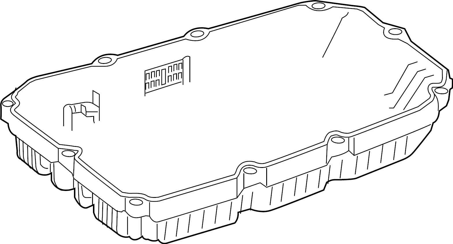 Mercedes-Benz SL63 AMG Transmission. Pan. Oil. Filter