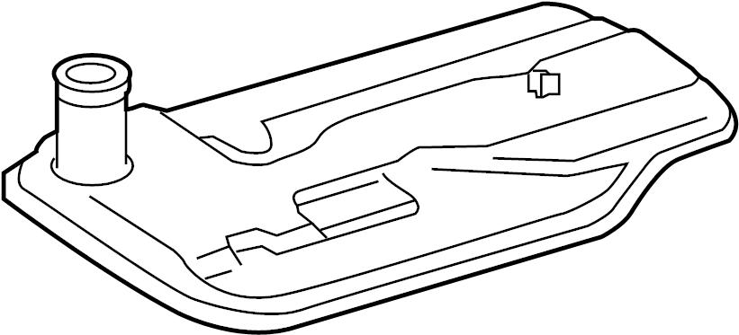 Mercedes-Benz SL63 AMG Transmission. Filter. Pan. Oil