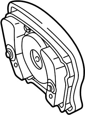 Mercedes-Benz CLK320 Air Bag. Inflator, Module, Replace