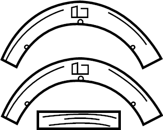 Mercedes-Benz C63 AMG Information label. Tire label. Tire