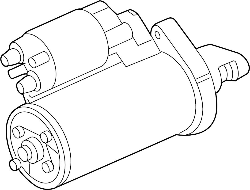 Mercedes-Benz SL65 AMG Starter. Starting motor. Cl600