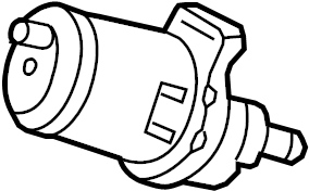Mercedes-Benz S350 Purge control valve. Purge valve. Vapor