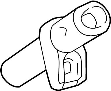 Mercedes-Benz ML550 Sensor. Position. Crankshaft