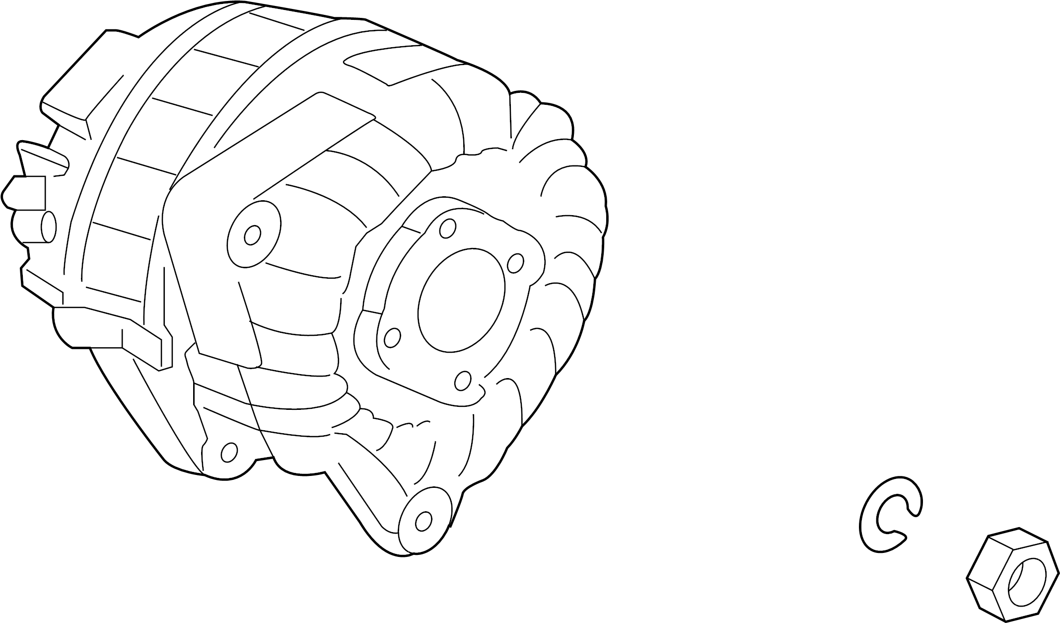 Porsche Boxster Alternator. Trans, Manual, Auto