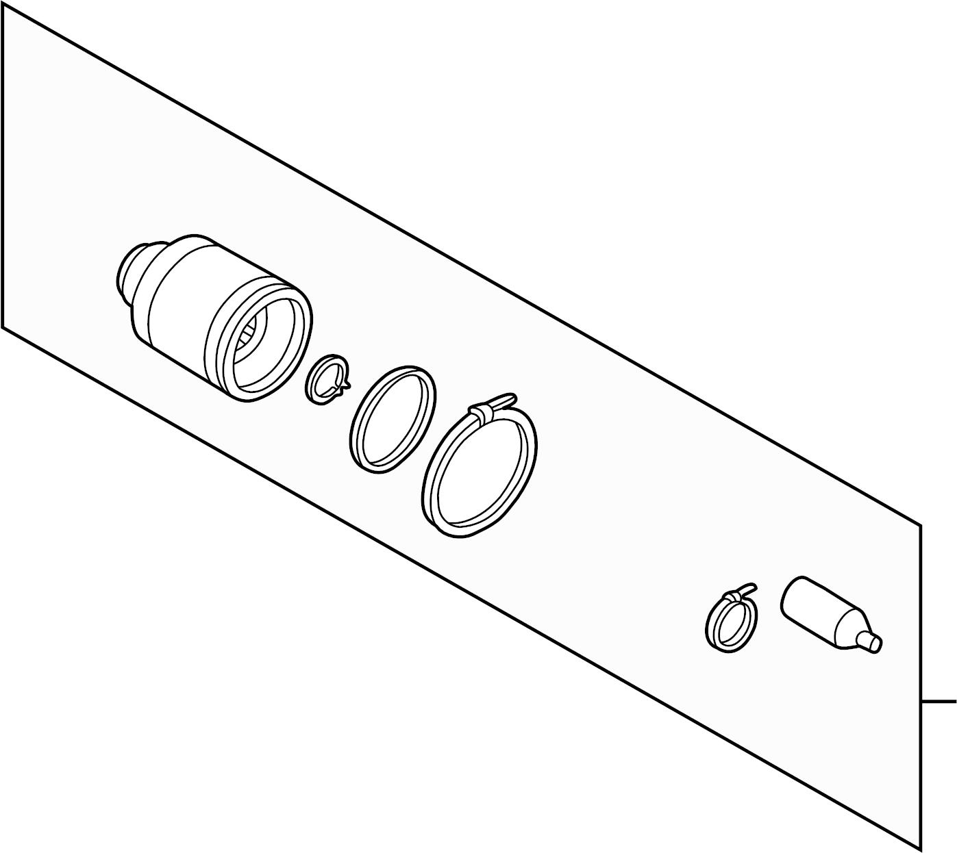 Subaru Impreza Doj Unit Kit Right Trans Auto Manual