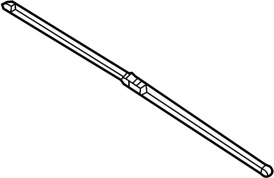 Volkswagen Beetle Windshield Wiper Blade. Left, Right