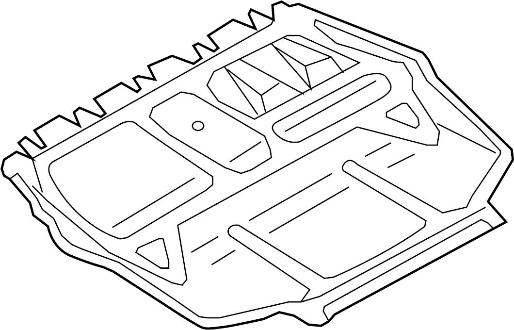 Volkswagen Rabbit Shield. Liter, Splash, Engine