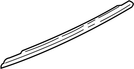 2003 Buick Century Door Window Belt Weatherstrip. FRONT