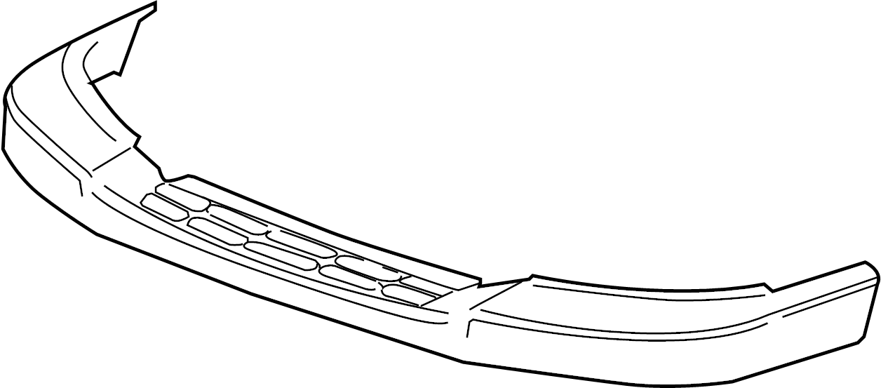 2008 GMC Savana 2500 Bumper Step Pad. Wire harness. Step