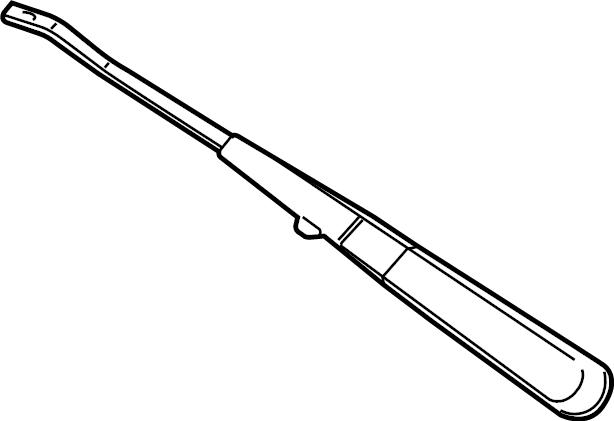 2010 Chevrolet Express 2500 Windshield Wiper Arm. Arm