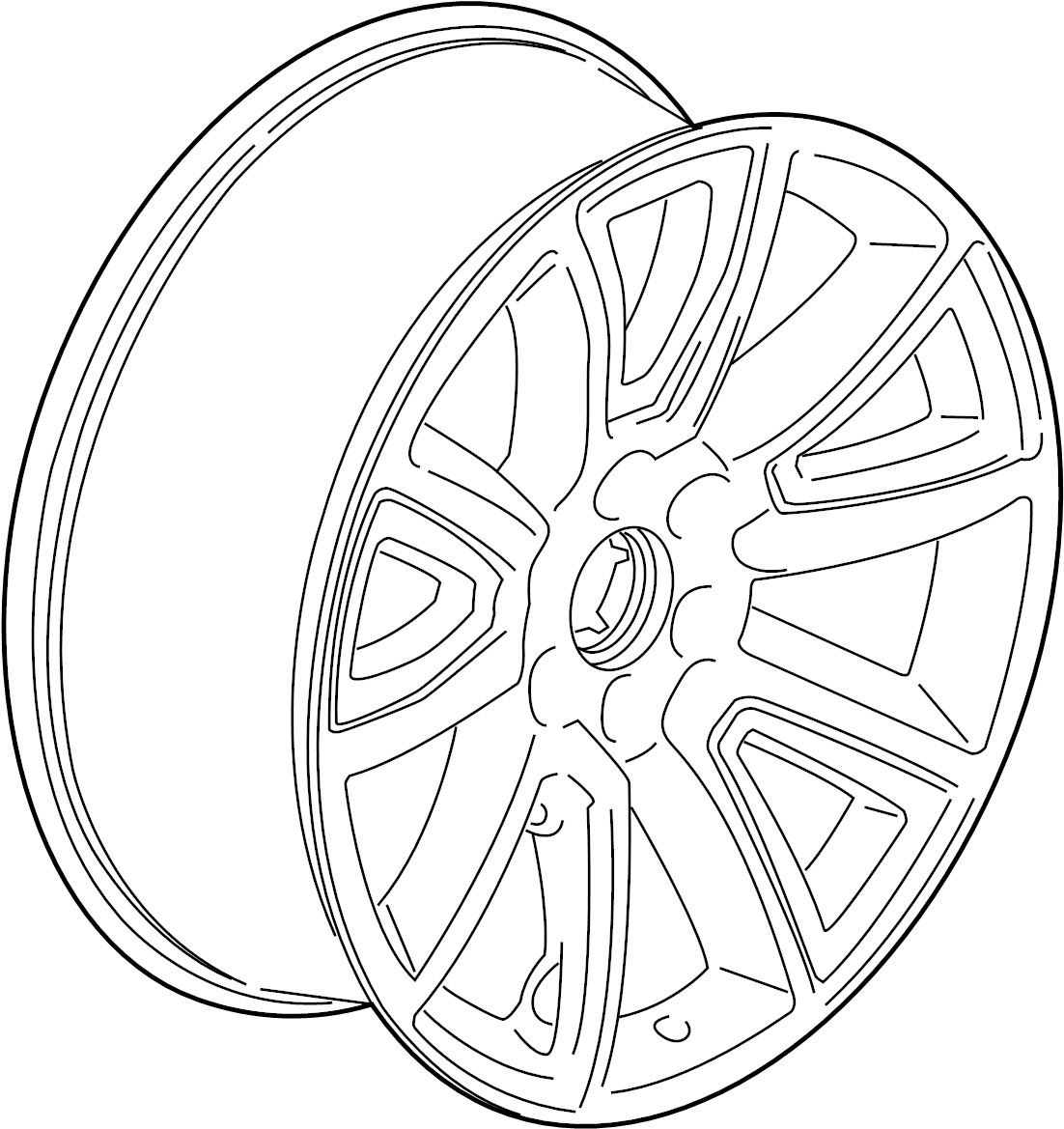 Chevrolet Silverado Wheel Package Wheel Alloy Gmc