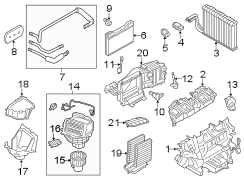 BMW 640i Blower. Module. Resistor. Regulator. HVAC. HEATER