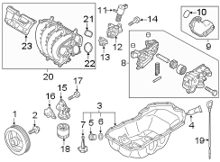 Mazda CX-5 Cover. Engine. LITER, TRANSAXLE, Built