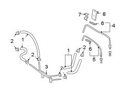 Pontiac Vibe Automatic Transmission Oil Cooler Tube