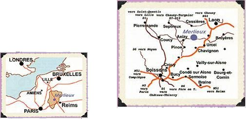 Carte Merlieux