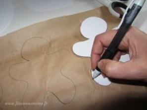 dessiner formes pochettes