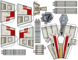 Blog_Paper_Toy_papertoy_X-Wing_template_1
