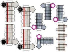 Blog_Paper_Toy_papertoy_X-Wing_template_2