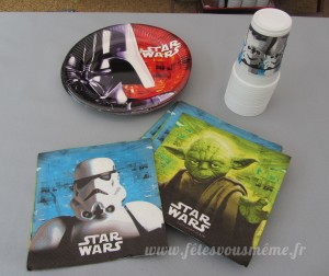 Décoration Star Wars - Vaisselle - Fêtes vous même