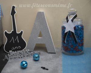 Montage guitare ardoise-A-bonbonniere