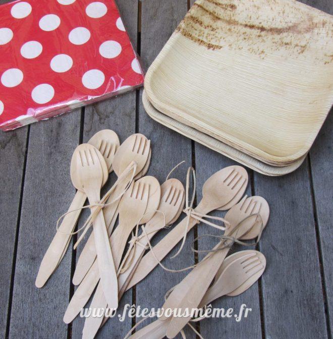 table Gourmande Thème forêt - Vaisselle - Fêtes vous même